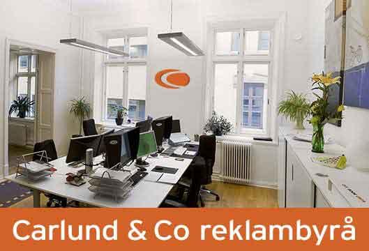 Reklam och marknadsföring Göteborg från Carlund & Co
