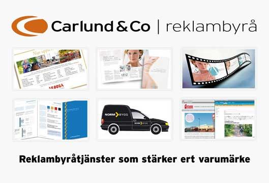 Reklambyråtjänster Göteborg från Carlund & Co