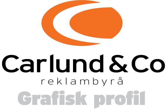 Grafisk profil Göteborg, grafisk manual från Carlund reklambyrå
